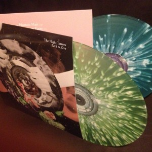 Back To Zero splatter vinyl