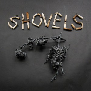LAST COPIES!! Shovels - S/T