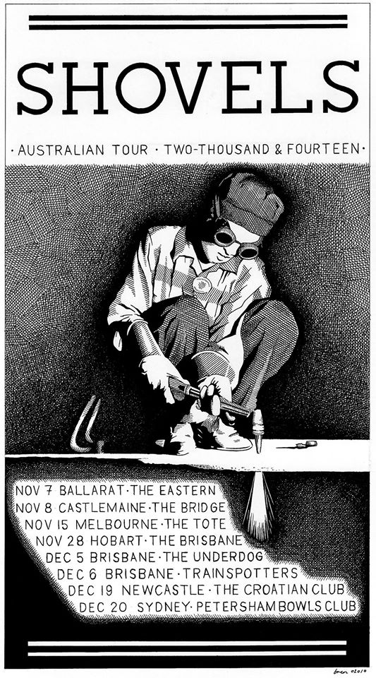 shovels aust tour dates