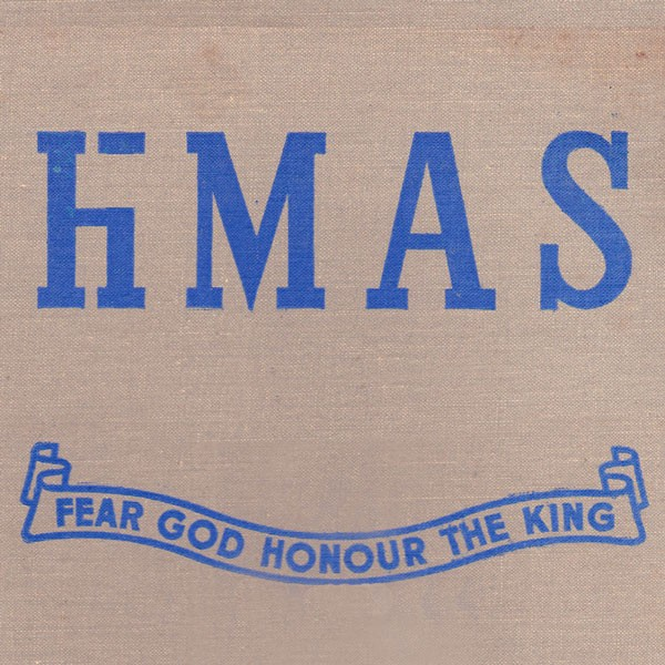 LAST COPIES - hMAS - Fear God Honour The King