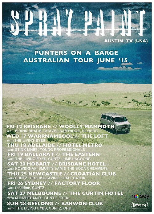 Aust tour - ALL SHOWS with supports 500x700