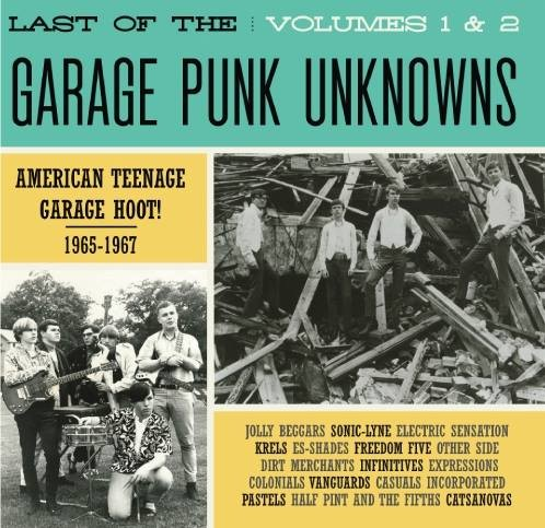 Last Garage Punk Unknowns CD Vol.1-2