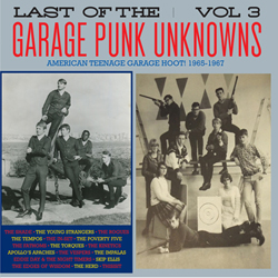 Last Garage Punk Unknowns Vol.3 CRYPT-111_LP