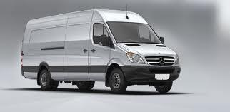 3. Silver Mercedes Sprinter