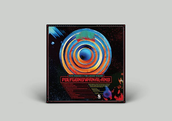 Strangeworld Polygondwanaland back cover